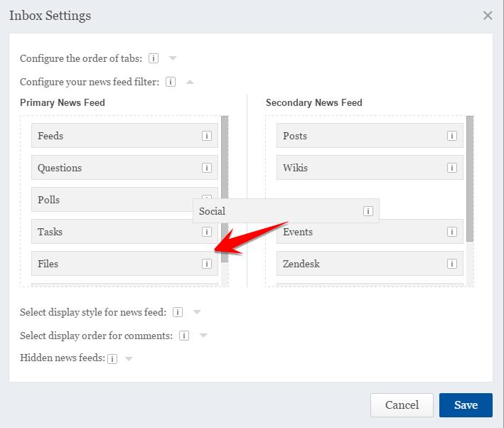Inbox Configuration